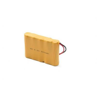 Pacco batterie al Ni-Cd ricaricabili 5 x (1,2 V - 600 mAh)