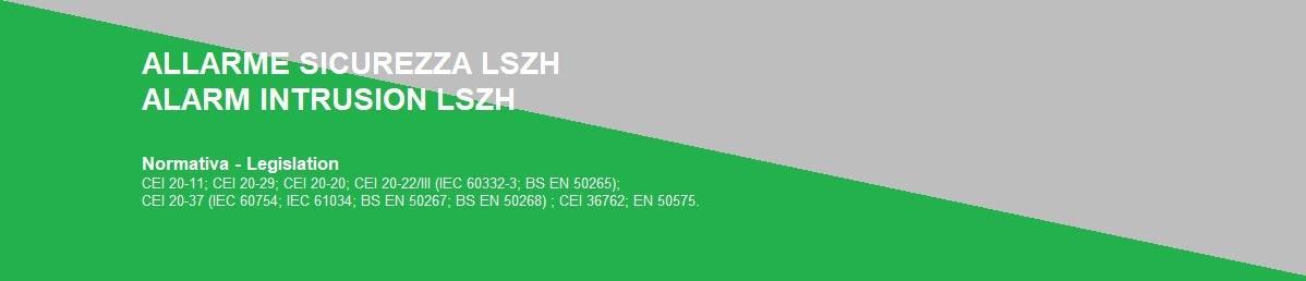 ALLARME/SICUREZZA LSZH
